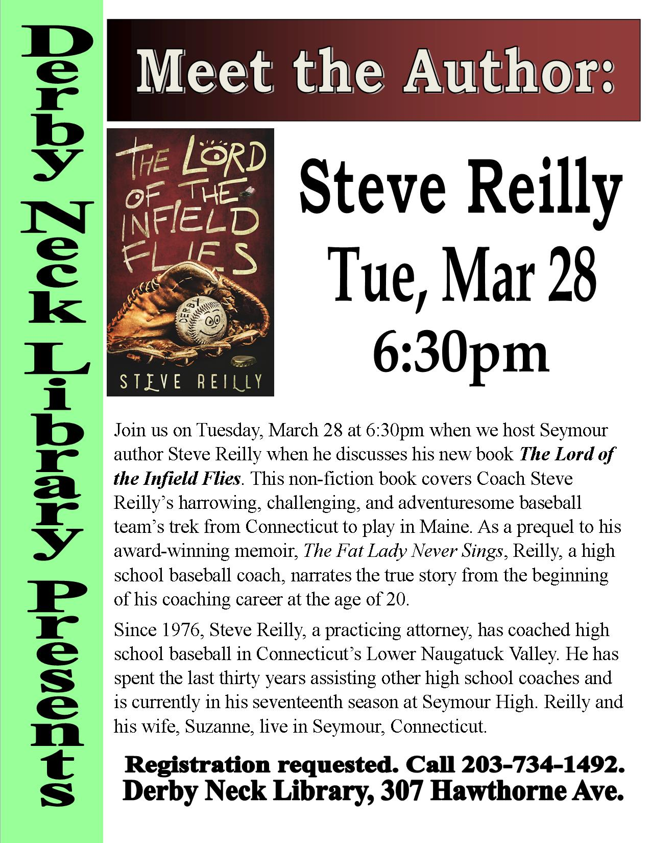 Meet the Author - Steve Reilly: The Lord of the Infield Flies