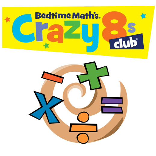 CANCELLED DUE TO LOW ENROLLMENT: Crazy 8′s Math Five Day Summer Camp Aug. 6-10th 4-5:30PM (Grades 1-4)