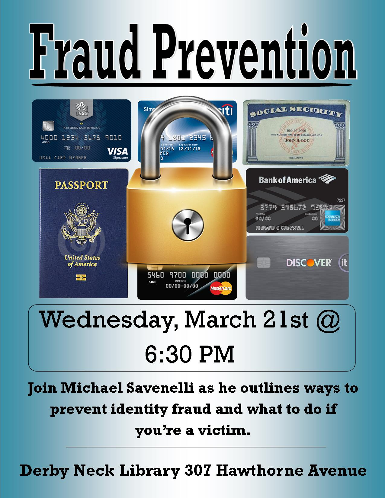 ID Fraud and Scam Workshop