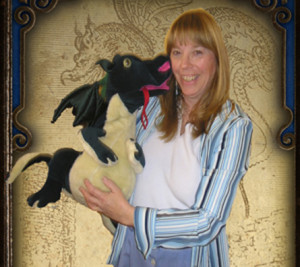 Our Children's Librarian Kathi Gordon and her friend George