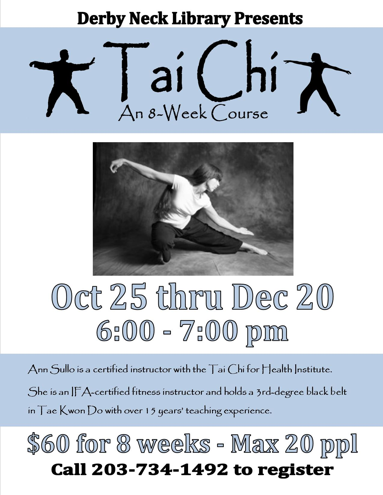 Tai Chi: An 8-Week Course