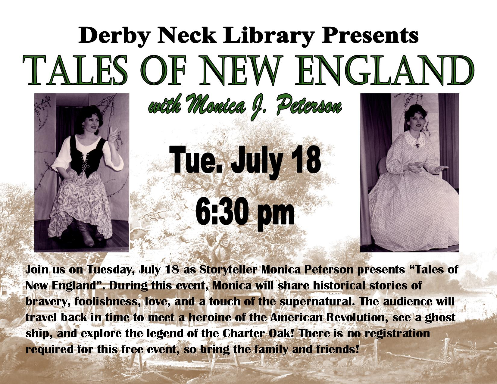 Tales of New England with Monica Peterson